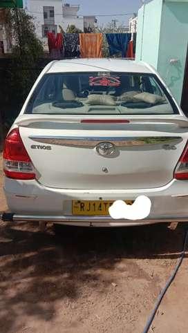 Toyota Etios 2014 Diesel 175000 Km Driven
