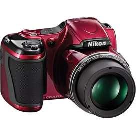 Nikon COOLPIX L820 Digital Camera (Red)