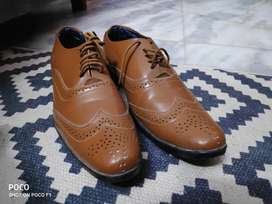 Lether shoes Size 6
