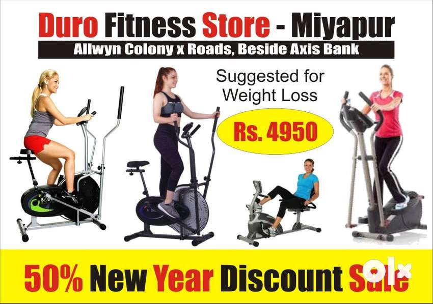 New cum Used Weight loss Fitness Cycles for Sale at Miyapur Rs. 4950 0