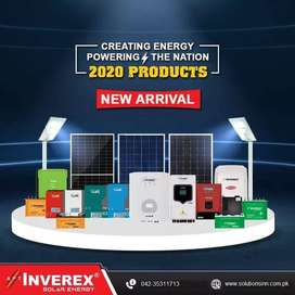Inverex Solar Hybrid Inverters are available with 5 Years Warranty
