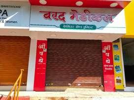 Shop for Rent at Mahatma Nagar, Road front