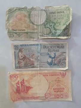 Uang kertas Rp.2 1/2 th.1961