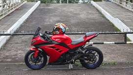 Kawasaki ninja 250 fi Red mulusss