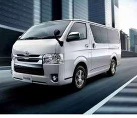 Toyota Hiace Roof Ab lijye Installment py Just 20% Down-payment dy k