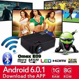 UPGRADE VERSION YOUTUBE ANDROID HD PROJECTOR WATCH ONLINE TV, MOBILE
