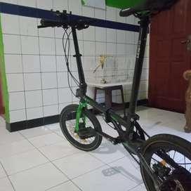 Sepeda Lipat Element Troy X8 Seri 2021 / Beli bulan februari
