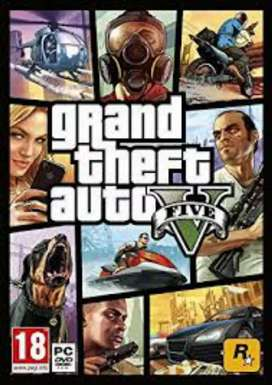 GTA 5 offline for pc windows @ 300 rs.