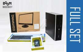 BRANDED HP FULLSET - 19 INCH MONITOR -  HOME DELIVERY -  WARRANTY