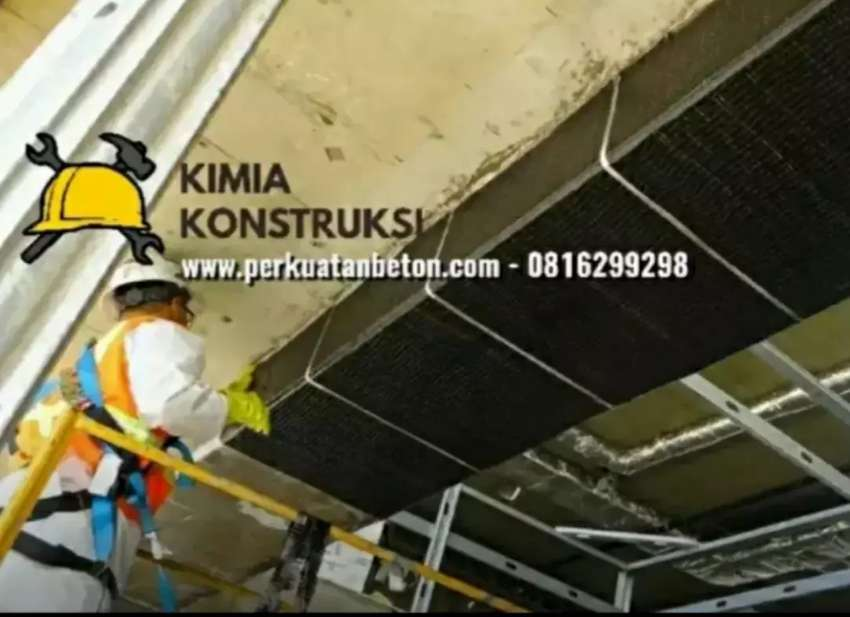 Aplikator perkuatan perbaikan struktur beton, Sika Fosroc mapei hilti 0