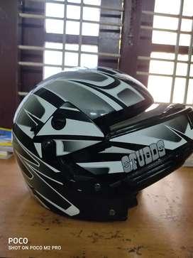 Studds helmet(double opening)
