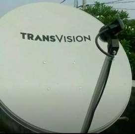 Parabola Trânsvision HD Makassar Special Diskon 50% Setahun Murah