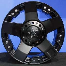 jual velg type RASTA JT5187 HSR Ring.16 Lebar.8 PCD.5X114,3-5X139,7 ET