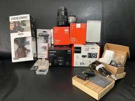 Sony a6400 sony a6000 jual borongan lensa