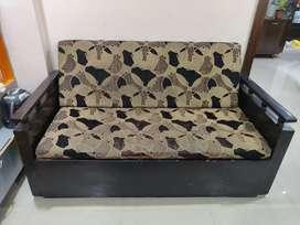 3 seater Sofa cum bed