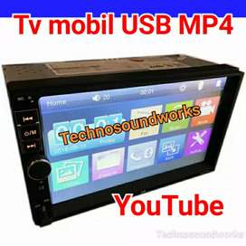 Head unit tv mobil sistim android 7 in mp4 youtube for paket sound