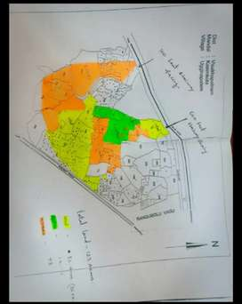 Near thallapalem junction 123 acres