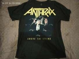 Fs. Kaos band Anthrax - Among The Living