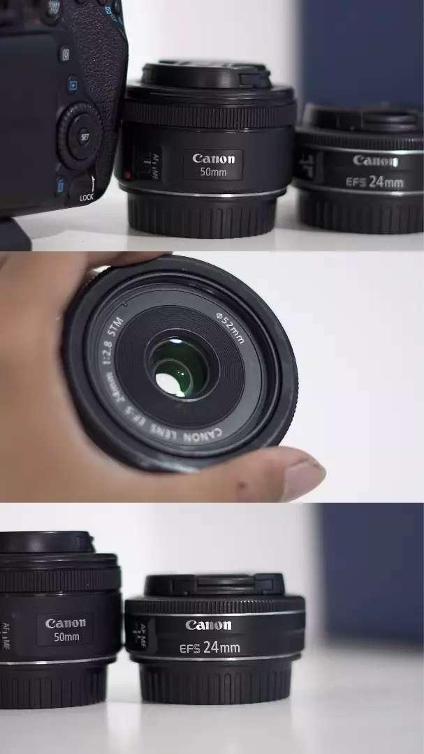 CANON 80D + 24mm f2.8 stm + 50mm f1.8 stm 0