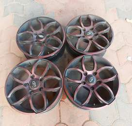 17 inch xuv500 4 ps alloys for sale