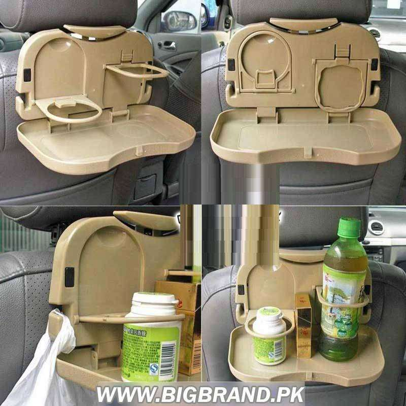 Food Table Desk Car Travel Dining Tray 0