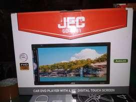 Doubledin tv JEC murah meriah autolink DVD VCD