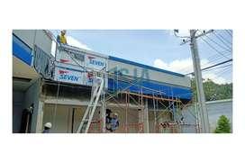 Jasa Pasang ACP Seven Marks, Kusen Aluminium, Cutting CNC di Ngawi