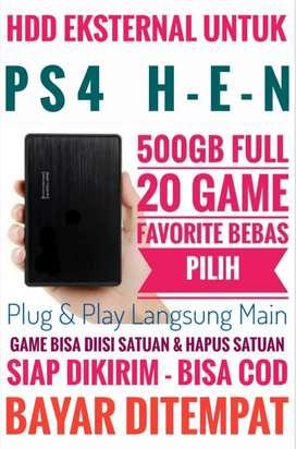 HDD 500GB FULL 20 Game Terlaris PS4 Harga Mrh Mantap Bebas Pilih