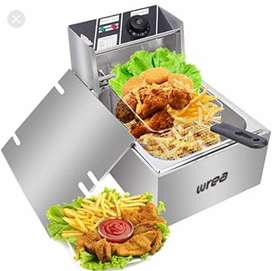 Electric Oil fryer sandwich griller toaster oven stove pizza steel