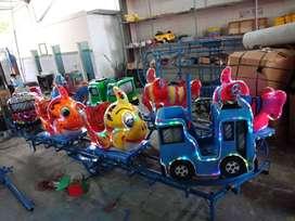 BARU mainan kereta panggung mini komedi putar odong fiber READY 11