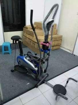 Treadmill elektrik,home gym langsung COD di rumah id  881