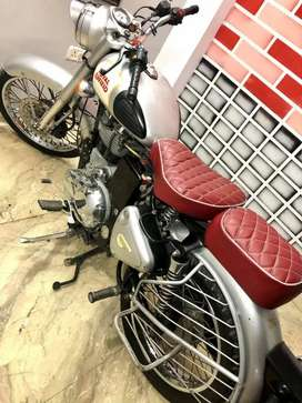 Silver colur bike DL no. Paper work complete