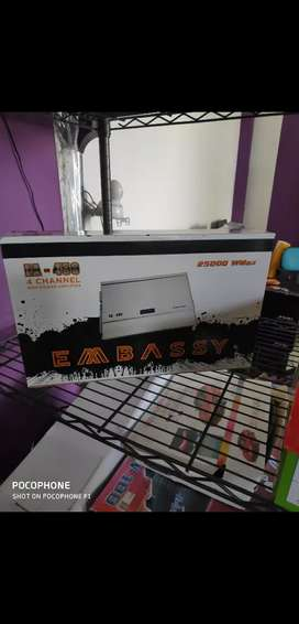 Power 4channel embassy readystock