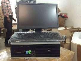 HP Core I3 3rd gen 8 gb ram 500 gb hdd 19 inch led full set deskotp