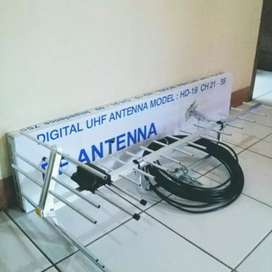 Harga pasang baru Antena TV area Depok