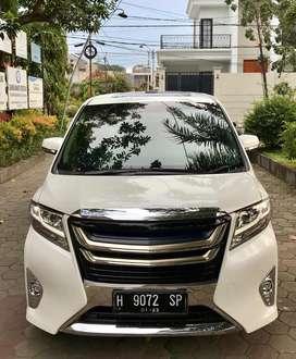 Toyota Alphard G Atpm 2017 AT Km 16 rb antik