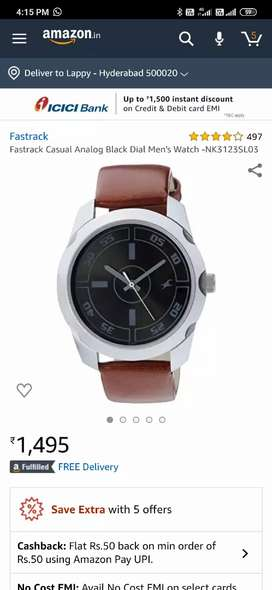 Fastrack watches for sale brand new box opend two watches