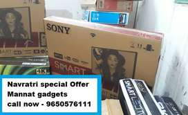 50 inches smart android 4k LED TV brand new box packed // Call now
