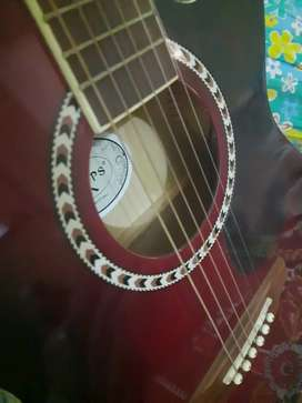 Kaps red wine guitar