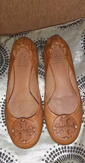 Sepatu flat shoes merk Tory burch original