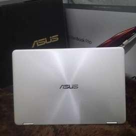 Laptop Touchscreen Flip Book use