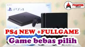 [NEW] PS4 SLIM 1TB +FREE 30GAME Bisa Request Game