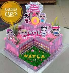 Kue Ulang Tahun Cantik