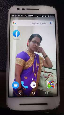 1 year old motorola mobile good condition...