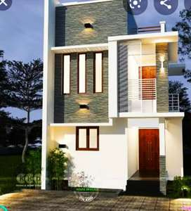 New Duplex New Construction 3 bhk 3 bathroom with garden