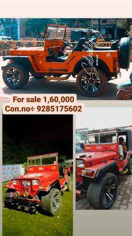 Mahindra Jeep 1994 Diesel 65000 Km Driven