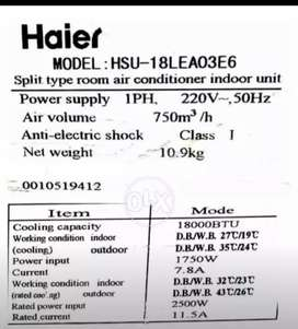 Haier  Ac Cooling is Excellent.