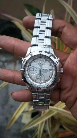 Jam tangan seiko chronogrpah 200m second original