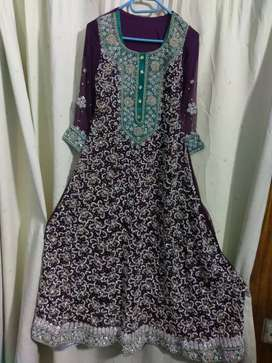 bridel maxi very havey work only few hr used