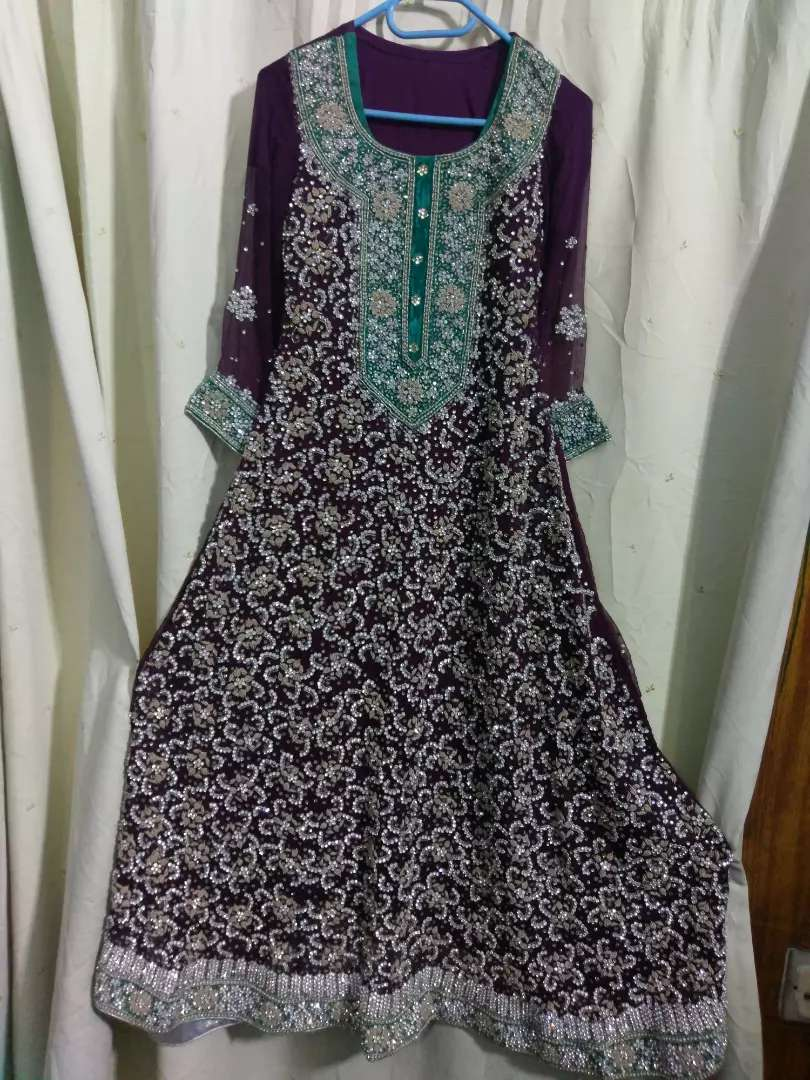 bridel maxi very havey work only few hr used 0